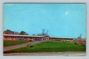 Beaver Falls PA, Palmer's Motel, Chrome Pennsylvania Postcard