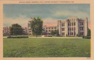 Indiana Indianapolis Arthur Jorden Memorial Hall Butler University