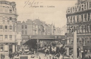 LONDON , England , 1900-10s ; Ludgate Hill