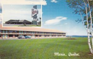 2-views,  Auberge Honguedo Inn,  Maria,  Quebec,  Canada,  40-60s