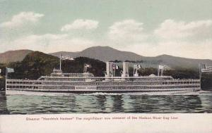 Steamship HENDRICK HUDSON Hudson Day Line , New York , 00-10s