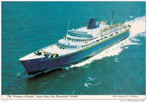 Princess of Acadia, SAINT JOHN, New Brunswick, Canada, 50-70´s