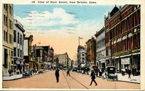 CT - New Britain. Main Street