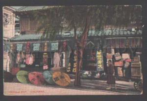 111691 Japan YOKOHAMA Umbrella Shop Vintage PC