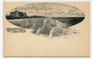 Princess Anne Hotel Beach Virginia Beach 1905c postcard