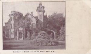 Residence Of John Lewis Childs, Floral Park, New York, 00-10s