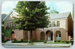 Cooperstown New York~National Baseball Hall of Fame & Museum~Shrine~1950s PC