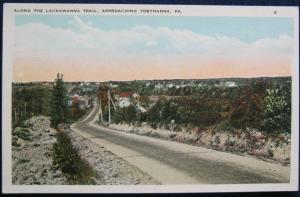 Along The Lackawanna Trail Approaching Tobyhanna PA Ruben Pub 6 WB Unposted
