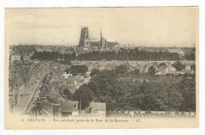 Vue Generale Prise De La Tour De St-Marceau, Orleans (Loiret), France, 1900-1...