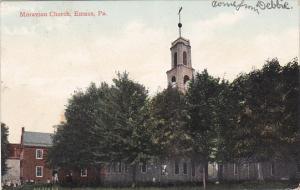 EMAUS, Pennsylvania; Moravian Church, PU-1908