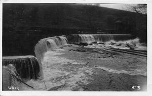 Weir Dam structure, Stockport 1947