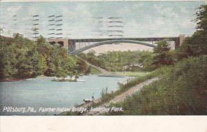 Panther Hollow Bridge Schenley Park Pittsburg Pennsylvania 1909