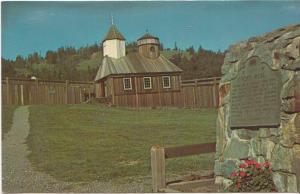 CHAPEL, FORT ROSS, CALIFORNIA, unused Postcard