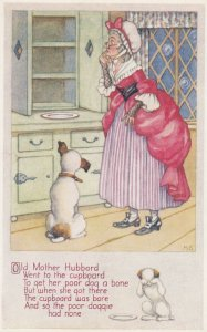Old Mother Hubbard , 1920-30s ; Signed M.S.