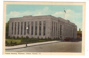 Federal Building, Kitchener, Ontario,