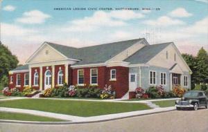 Mississippi Hattiesburg American Legion Civic Center 1963