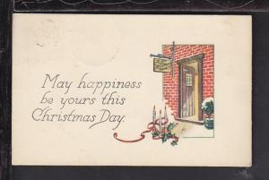 May Happiness...Christmas Day,Candles Postcard