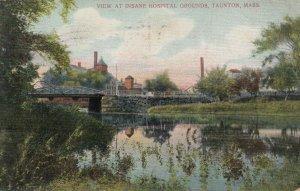 TAUNTON , Massachusetts, 1907 ; View at Insane Hospital