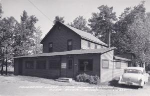 RP: Tamarack Lodge , Lake Winnibigoshish, DEER RIVER , Minnesota, 40-50s