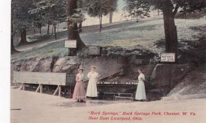 CHESTER, West Virginia, 1900-10s; Rock Springs, Rock Springs Park