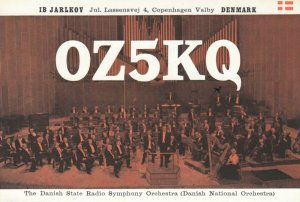 Danish National Orchestra , Denmark, 1961
