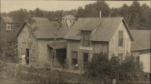 Wolfeoboro NH Area WELIKT Camp Homes c1910 Real Photo Postcard