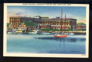 Woods Hole, Massachusetts/Mass/MA Postcard, Maine Biological Laboratry, Cape Cod