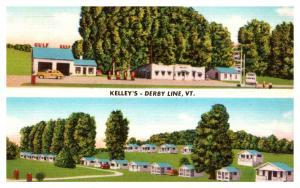 Vermont Derby Line , Kelley's Crystal Brook Farm  Motel