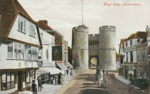 CANTERBURY , England, 1900-10s ; West Gate