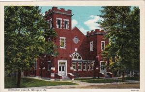 Kentucky Glasgow Methodist Church 1947 Curteich