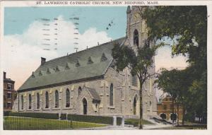 NEW BEDFORD, Massachusetts, PU-1936; St. Lawrence Catholic Church