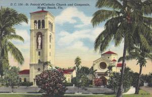 St. Patrick's Catholic Church and Campanile, MIAMI BEACH, Florida, 30-40's