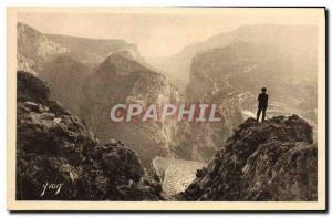 Postcard Old Point Sublime The Gorges Du Verdon