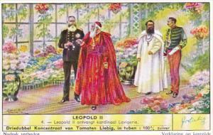 Liebig s1714 Leopold II No 4 Leopold II ontvangt kardinaal Lavigerie