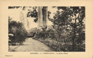 CPA Dahomey Afrique - Porto-Novo - Le Jardin d'Essai (86805)