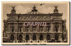 Paris Old Postcard L & # 39opera