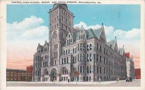 Pennsylvania Philadelphia Central High School