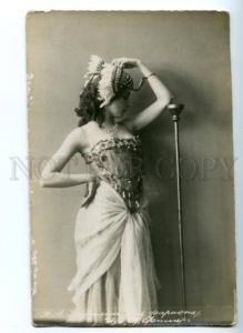 140373 KARALLI Russian BALLET Star DANCER Pharaoh Old PHOTO