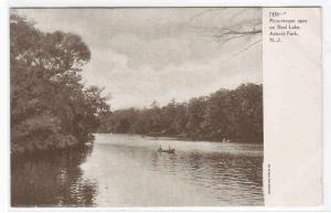 Deal Lake Asbury Park New Jersey 1910c postcard