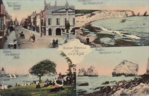 England Isle Of Wight Newport Freshwater Cowes and Needles