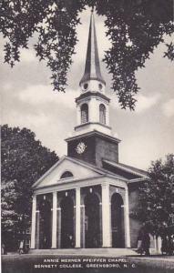 North Carolina Greensboro Annie Merner Pfeiffer Chapel Bennett College Artvue