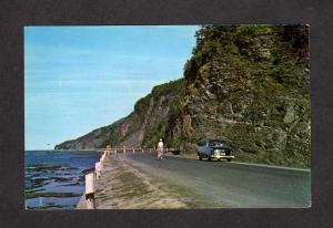 QC Ste Marthe Route 6 Gaspe Nord Quebec Canada Carte Postale Postcard