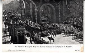 Emperor Franz Josef in Berlin 5/4/00