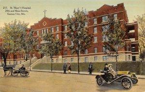 St. Mary's Hospital, 28th and Main Street, Kansas City, MO, ,USA St. Mar...