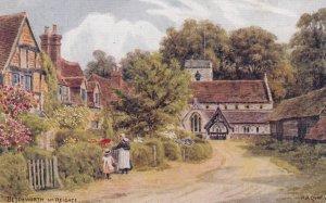 BETCHWORTH , Surrey, England, UK, 1900-10s; Street View ; Artist A.R.QUINTON