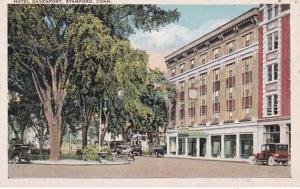 Connecticut Stamford Hotel Davenport 1926