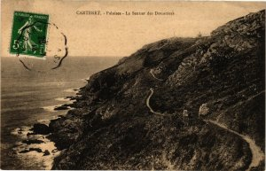 CPA CARTERET - Falaises - Le Senuer des Douaniers (138149)