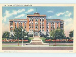 Unused Linen HOSPITAL SCENE Idaho Falls Idaho ID W2732
