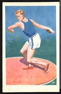 1952 Summer Olympics Helsinki Discus Throw