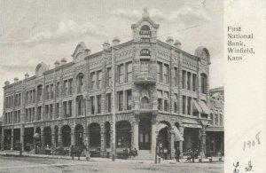 WINFIELD , Kansas , 1908 ; First National Bank